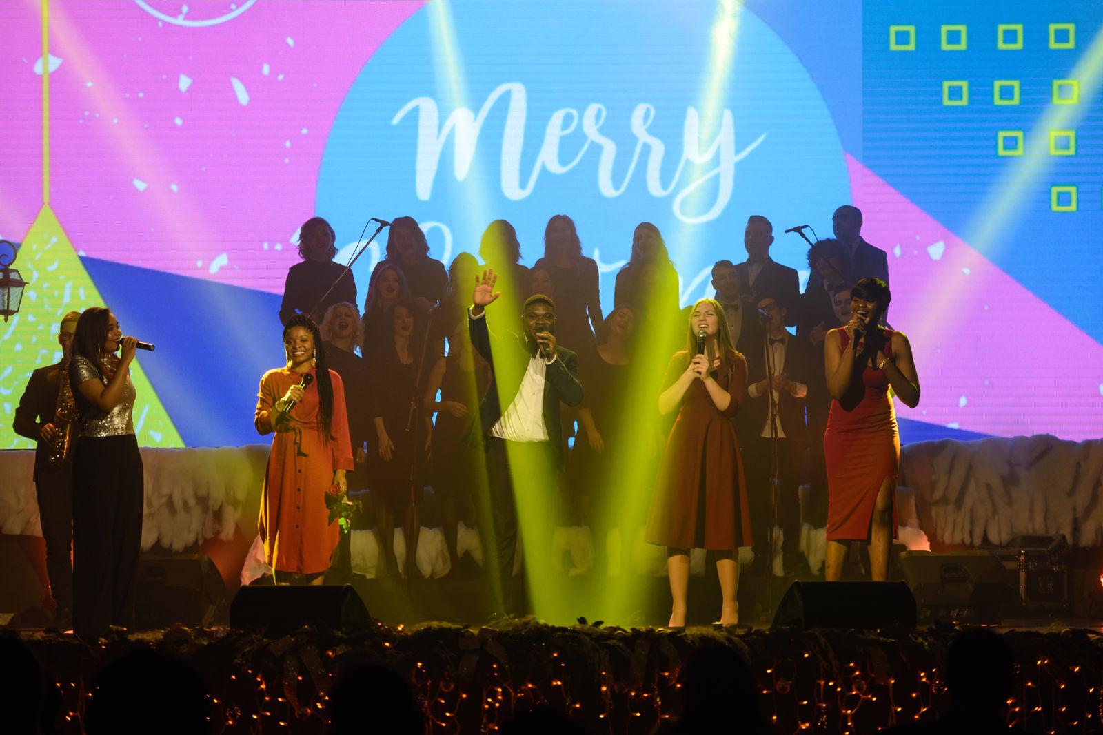 Різдвяне містечко на малинській – свято для всієї родини